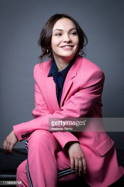 Emma Drogunova poses during the portrait session presenting the European Shooting Stars 2019 as part of the 69th Berlinale International Film...