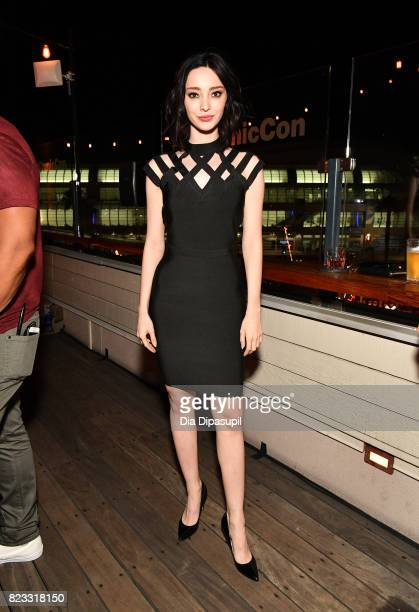 Emma Dumont at Entertainment Weekly's annual ComicCon party in celebration of ComicCon 2017 at Float at Hard Rock Hotel San Diego on July 22 2017 in...