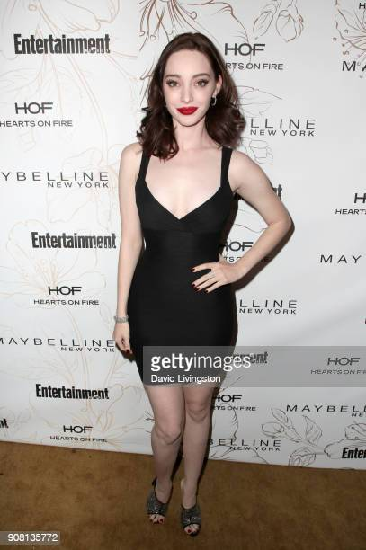 Emma Dumont attends Entertainment Weekly's Screen Actors Guild Award Nominees Celebration sponsored by Maybelline New York at Chateau Marmont on...