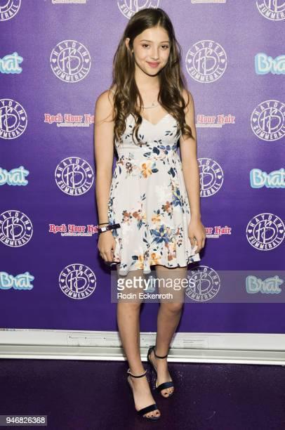Emma Engle attends Hayden Summerall's 13th Birthday Bash at Bardot on April 15 2018 in Hollywood California