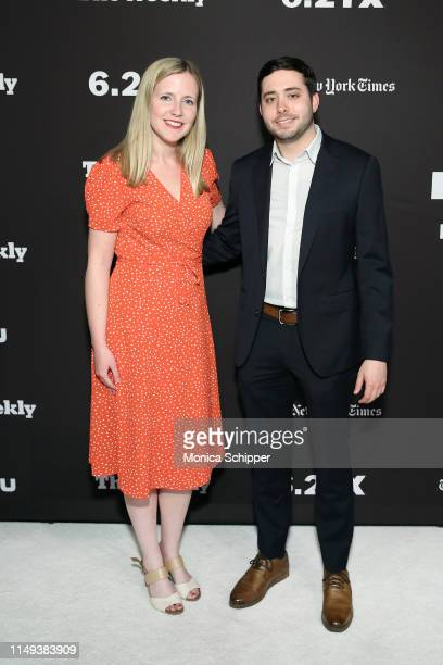 Emma Fitzsimmons and Brian Rosenthal attend The Weekly New York Premiere at Florence Gould Hall Theater on May 15 2019 in New York City