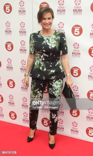 Emma Forbes arriving for the Tesco Mum of the Year Awards at The Savoy hotel in central London