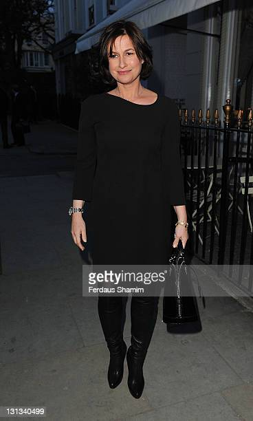 Emma Forbes attends the book launch party for 'Kelly Hoppen Ideas' at Beach Blanket Babylon on April 4 2011 in London England
