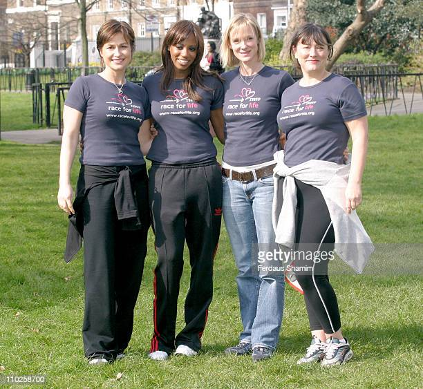 Emma Forbes Shaznay Lewis Hermoine Norris and Arabella Weir