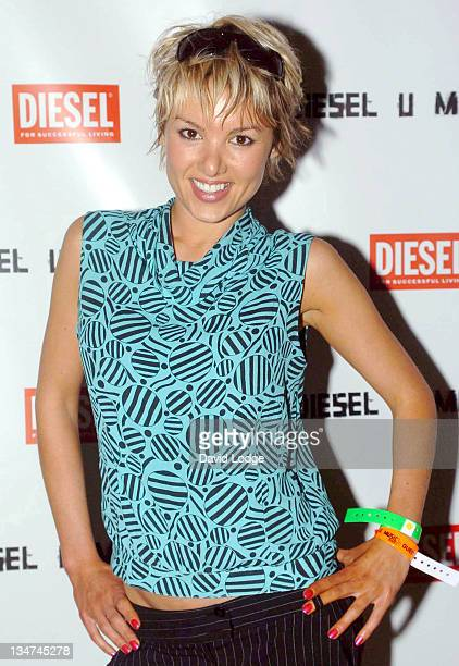 Emma Ford during Diesel U Music Awards 2004 Arrivals at Fabric Nightclub in London Great Britain