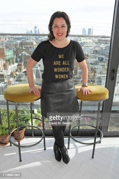Emma France attends the mothers2mothers Wonder Women Tea at Bourne Hollingsworth's Garden Room on March 4 2019 in London England