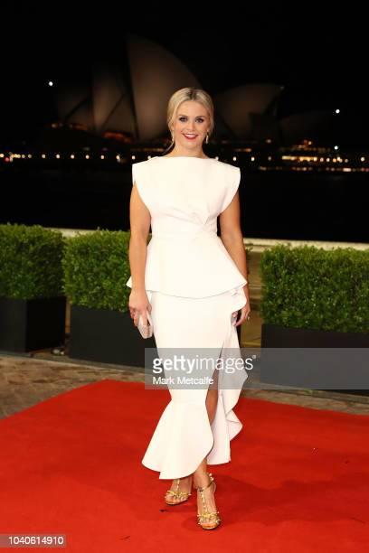 Emma Freedman arrives at the 2018 Dally M Awards at Overseas Passenger Terminal on September 26 2018 in Sydney Australia