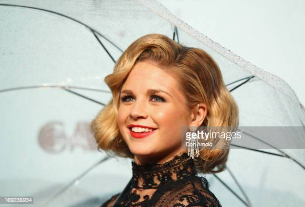 Emma Freedman arrives for the Sydney premiere of The Great Gatsby at Moore Park on May 22, 2013 in Sydney, Australia.