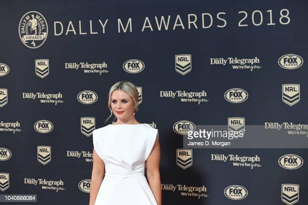 Emma Freedman attends the 2018 Dally M Awards on September 26 2018 in Sydney Australia