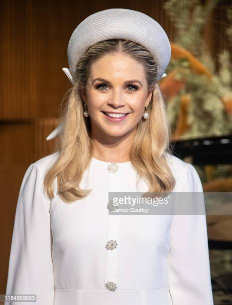 Emma Freedman attends the Lexus Marquee at Derby Day at Flemington Racecourse on November 02, 2019 in Melbourne, Australia.