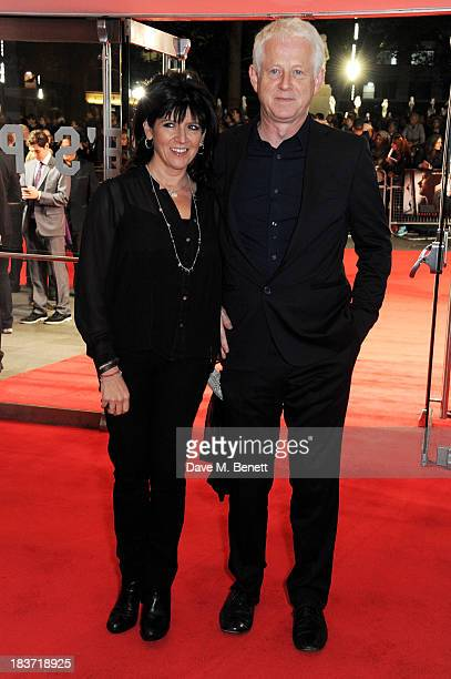 Emma Freud and Richard Curtis attend the European Premiere of Captain Phillips on the opening night of the 57th BFI London Film Festival at Odeon...