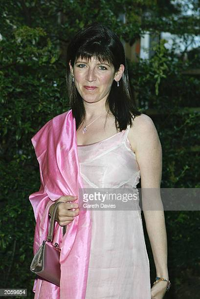Emma Freud attends the launch party for the new Mercedes Maybach luxury automobile at Portman Square June 5 2003 London England