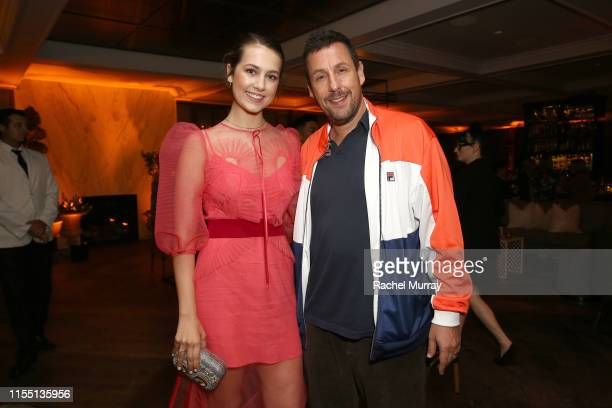 Emma Fuhrmann and Adam Sandler attend the Netflix World Premiere Of Murder Mystery after party at Baltaire on June 10 2019 in Los Angeles California