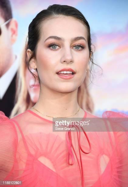 Emma Fuhrmann arrives at the LA Premiere Of Netflix's Murder Mystery at Regency Village Theatre on June 10 2019 in Westwood California