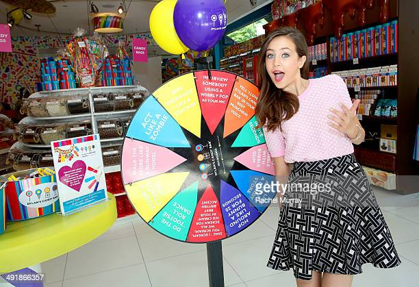 Emma Fuhrmann attends Dylan's Candy Bar Candy Girl Collection LA launch event at Dylan's Candy Bar on May 17 2014 in Los Angeles California