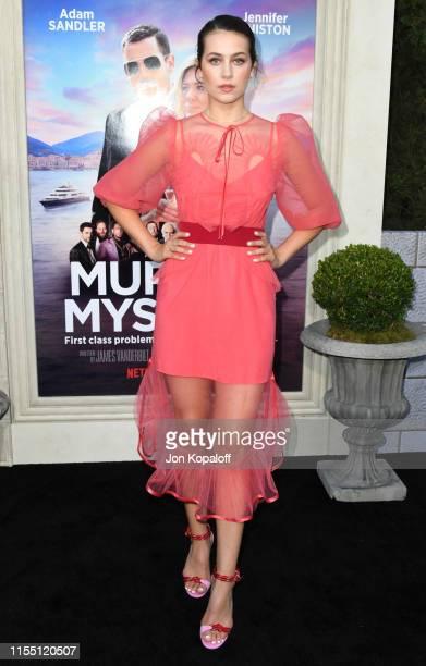 Emma Fuhrmann attends LA Premiere Of Netflix's Murder Mystery at Regency Village Theatre on June 10 2019 in Westwood California