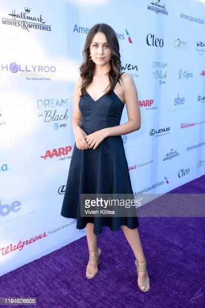 Emma Fuhrmann attends the HollyRod Foundation's 21st Annual DesignCare Gala on July 27 2019 in Malibu California