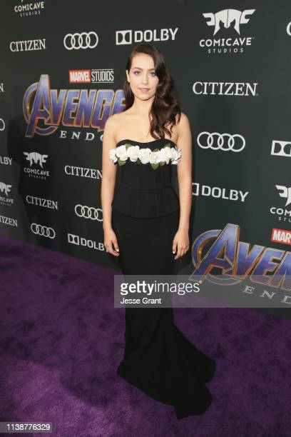 Emma Fuhrmann attends the Los Angeles World Premiere of Marvel Studios' Avengers Endgame at the Los Angeles Convention Center on April 23 2019 in Los...