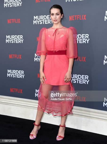 Emma Fuhrmann attends the LA Premiere of Netflix's Murder Mystery at Regency Village Theatre on June 10 2019 in Westwood California