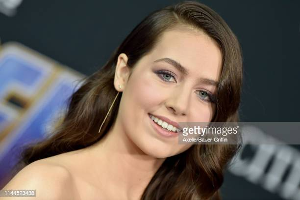 Emma Fuhrmann attends the World Premiere of Walt Disney Studios Motion Pictures 'Avengers Endgame' at Los Angeles Convention Center on April 22 2019...