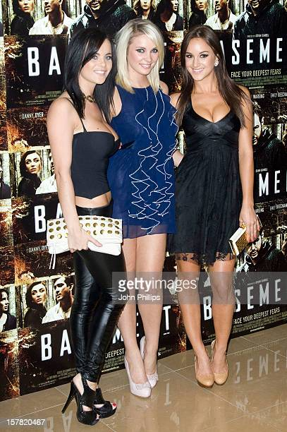 Emma Glover And Rosie Jones Attend The Uk Film Premiere Of 'Basement' At The Mayfair Hotel In London