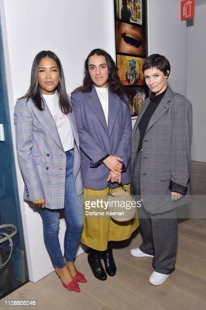 Emma Grede Heather Taylor and Cassandra Grey attend Woman Made on March 5 2019 in Beverly Hills California