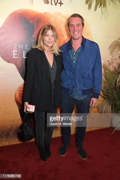 Emma Greenwell and Michael Walker attend the London Premiere of Apple's acclaimed documentary The Elephant Queen on October 17 2019 in London England