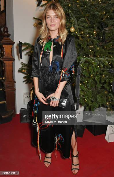 Emma Greenwell attends a party hosted by NETAPORTER and MR PORTER to celebrate the festive season in style at One Horse Guards on November 30 2017 in...