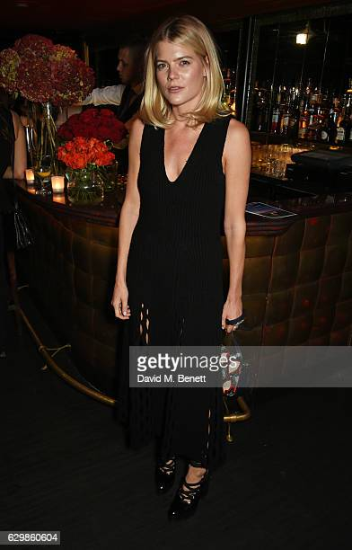 Emma Greenwell attends a reception in honour of 'La La Land' with Damien Chazelle Emma Stone and Justin Hurwitz at The Arts Club on December 14 2016...