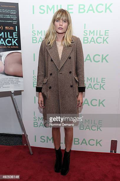 Emma Greenwell attends 'I Smile Back' New York Premiere at Museum of Modern Art on October 13 2015 in New York City