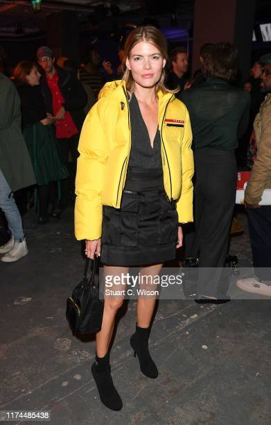 Emma Greenwell attends PRADA MODE LONDON October 2 and 3 DAY 1 / DAY 2 DINNER AND PARTY on October 03 2019 in London England