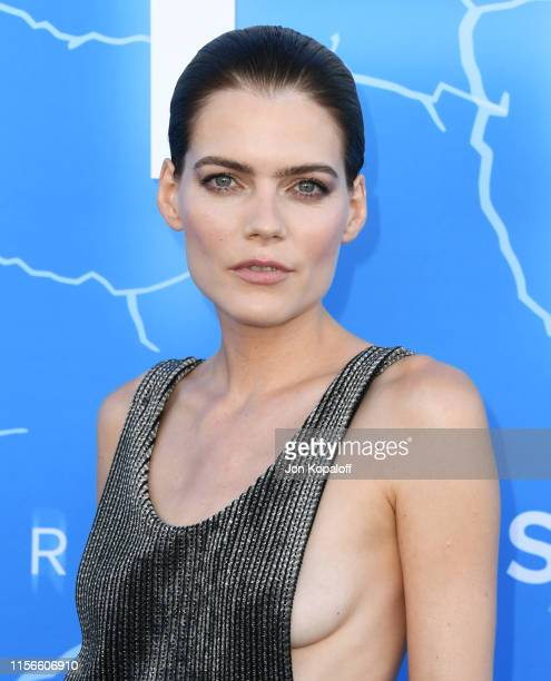 Emma Greenwell attends LA Premiere Of Starz's The Rook at The Getty Museum on June 17 2019 in Los Angeles California
