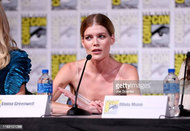 "Emma Greenwell attends STARZ ""The Rook"" at San Diego ComicCon 2019 at San Diego Convention Center on July 19 2019 in San Diego California"