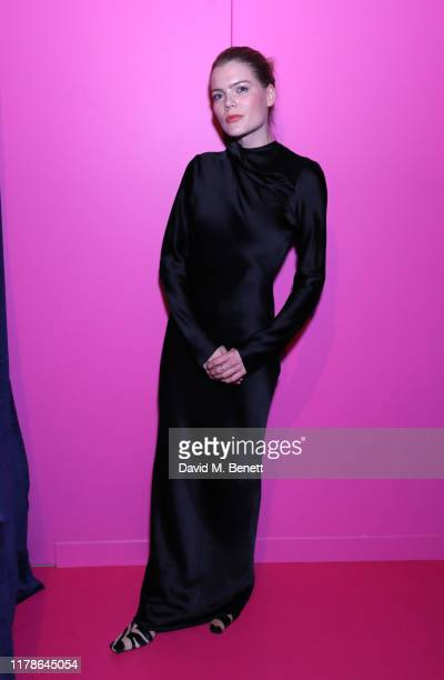Emma Greenwell attends the Moda Operandi x Brandon Maxwell party on October 02 2019 in London England
