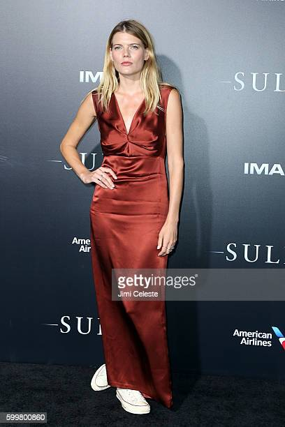 """Emma Greenwell attends The New York Premiere of Warner Bros. Pictures' and Village Roadshow Pictures' """"Sully"""" at Alice Tully Hall at Lincoln Center..."""
