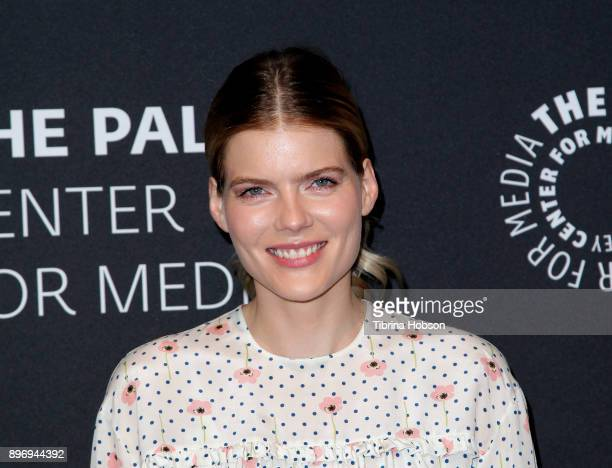 Emma Greenwell attends the Paley Center For Media's presentation of Hulu's 'The Path' Season 3 premiere at The Paley Center for Media on December 21...