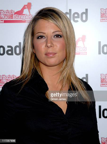 Emma Greenwood during Loaded's Sexiest Singles Party August 1 2006 at The Play Room in London Great Britain