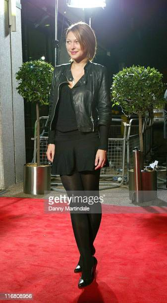 Emma Griffiths attends Another Audience With Al Murray The Pub Landlord held at the ITV Centre October 21 2007 in London England