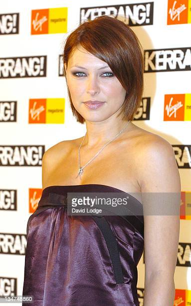 Emma Griffiths during Kerrang Awards 2006 Arrivals at The Brewery in London Great Britain
