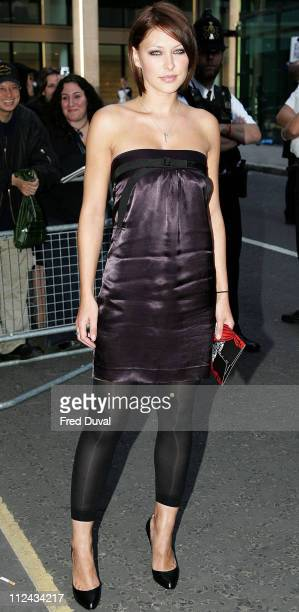Emma Griffiths during Kerrang Awards 2006 Outside Arrivals at The Brewery London in London United Kingdom
