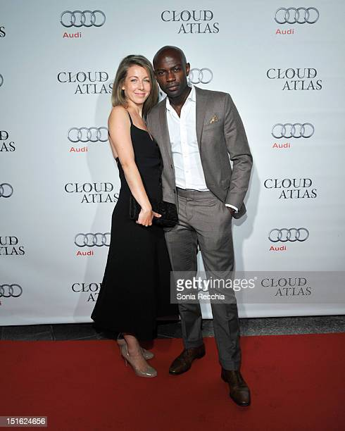 Emma Gyasi and David Gyasi attend Cloud Atlas Post Screening Event 2012 Toronto International Film Festival on September 8 2012 in Toronto Canada