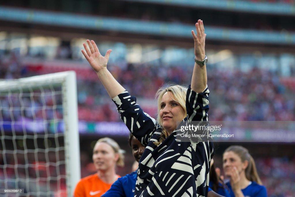 Arsenal Women v Chelsea Ladies - SSE Women's FA Cup Final : News Photo
