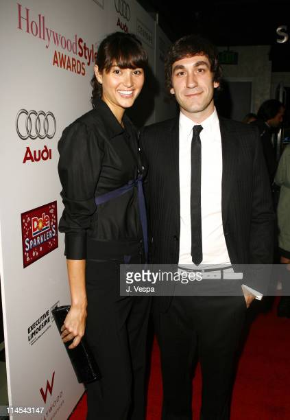 Emma Heming and Brent Bolthouse during 2006 Hollywood Life Movieline Style Awards Red Carpet at Pacific Design Center in West Hollywood California...