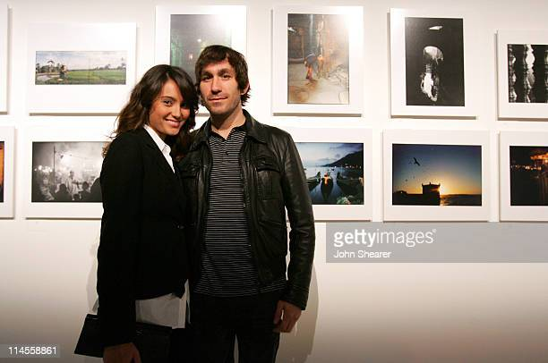 Emma Heming and Brent Bolthouse during Brian Bowen Smith Brent Bolthouse and Brandon Boyd Art and Photography Show at Quixote Studios at Quixote...