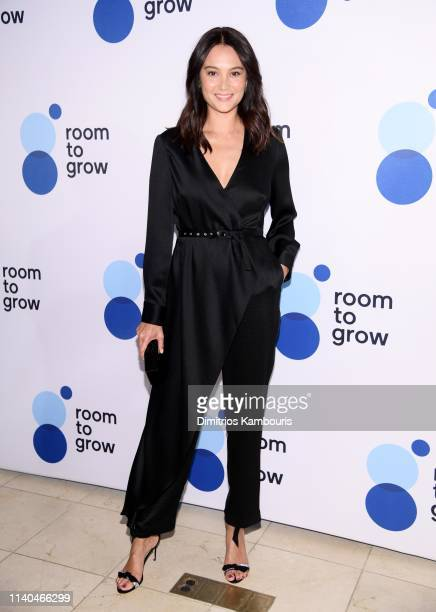 """Emma Heming attends """"Room To Grow"""" Spring Benefit at Guastavino's on April 04, 2019 in New York City."""
