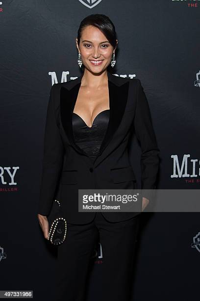 Emma Heming Willis attends Misery Broadway opening night at The Broadhurst Theatre on November 15 2015 in New York City