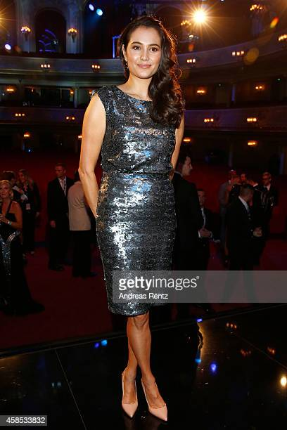 Emma HemingWillis is seen on stage at the GQ Men Of The Year Award 2014 at Komische Oper on November 6 2014 in Berlin Germany