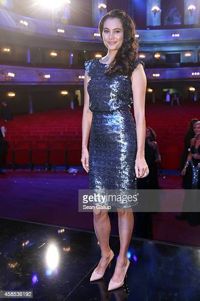 Emma HemingWillis is seen on stage at the GQ Men Of The Year Award 2014 after show party at Komische Oper on November 6 2014 in Berlin Germany