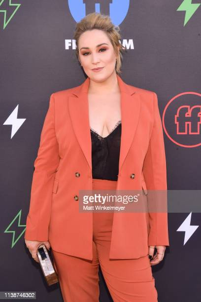 Emma Hunton attends the 2nd Annual Freeform Summit at Goya Studios on March 27 2019 in Los Angeles California