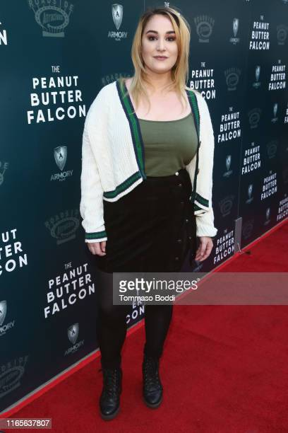 Emma Hunton attends the LA Special Screening of Roadside Attractions' The Peanut Butter Falcon at ArcLight Hollywood on August 01 2019 in Hollywood...